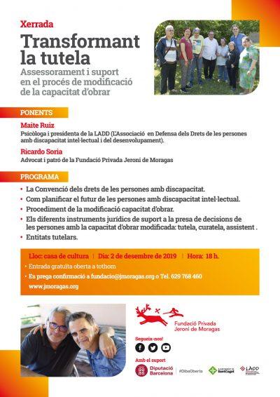 LADD (L'Associació en Defensa dels Drets de les Persones amb Discapacitat Intel·lectual) - Bloc - Transformant la tutela