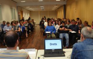 LADD (L'Associació en Defensa dels Drets de les Persones amb Discapacitat Intel·lectual) - Bloc - Xerrada accesible sobre Drets