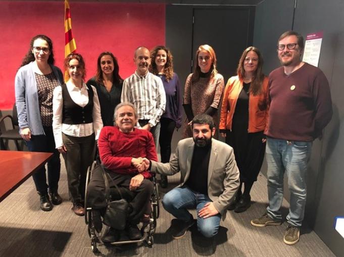 LADD (L'Associació en Defensa dels Drets de les Persones amb Discapacitat Intel·lectual) - Bloc - Govern i Cocarmi: pla de xoc per a la inserció laboral de Persones amb Discapacitat