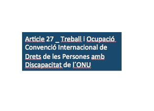 LADD (L'Associació en Defensa dels Drets de les Persones amb Discapacitat Intel·lectual) - Bloc - Manifest de la LADD respecte al càlcul del Salari Mínim als Centres Especials Treball